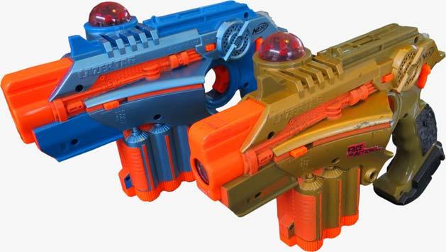 Phoenix lasergeweren huren grijs