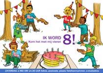 lasrshooting verjaardagskaart