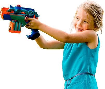 lasergame ook voor meisjes
