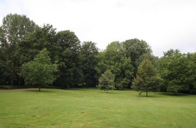 Le parc du chateau de boussu