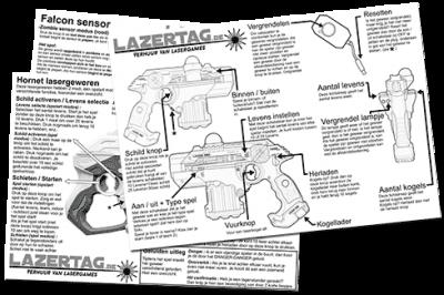Lasershooting instructions