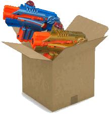 lasergame box
